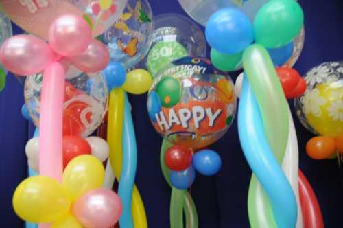 Bubbles-Luftballons-Geburtstag