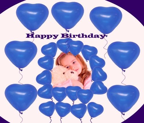 Kindergeburtstag mit Herzluftballons