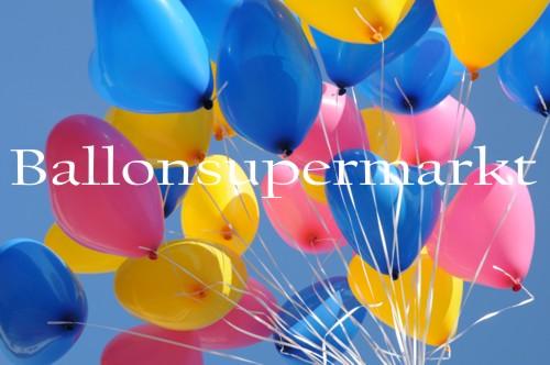 Luftballons-Herzluftballons