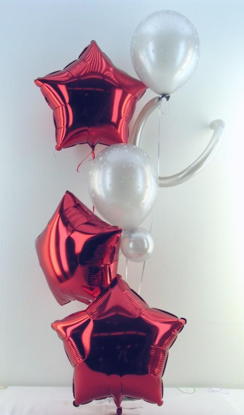 Weihnachten mit Ballons