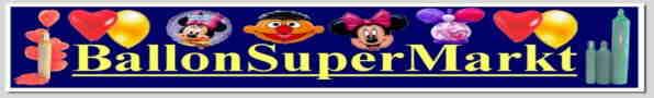 Ballonsupermarkt: Versandhandel für Ballons und Luftballons, Helium, Ballongase und Luftballongas zu Hochzeiten, zu Partys, Feste und Feiern, Festdekoration, Ballondeko und Dekorationen mit Luftballons