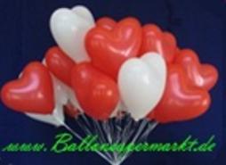 herzballons zur hochzeit steigen lassen hochzeit hochzeit ballons und ...
