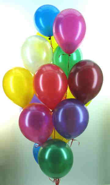 Ballons Metallic