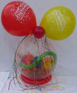 Geschenkballons zum Kindergeburtstag