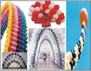 Luftballons Ballondekoration
