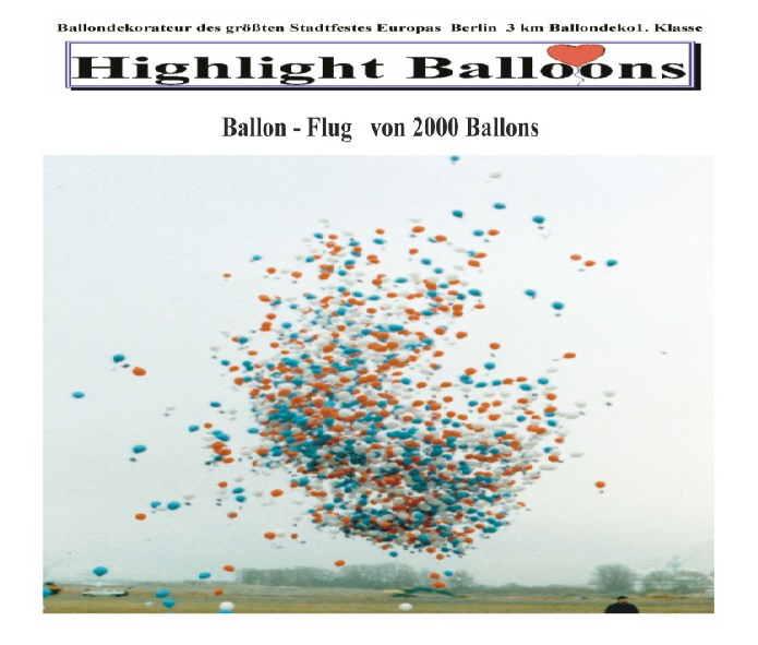 Ballonflug-Massenstart