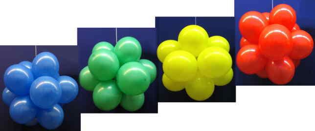 Luftballons machen Ihre Party fröhlich