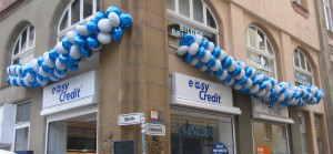 Luftballons Geschäftseröffnung