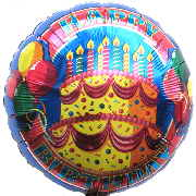 Luftballons Geburtstag