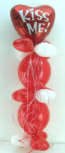 Kiss ME Luftballonsäule