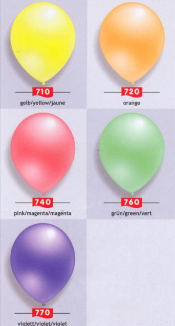 Ballons Neon