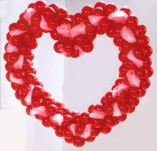 Love Heart Ballondeko