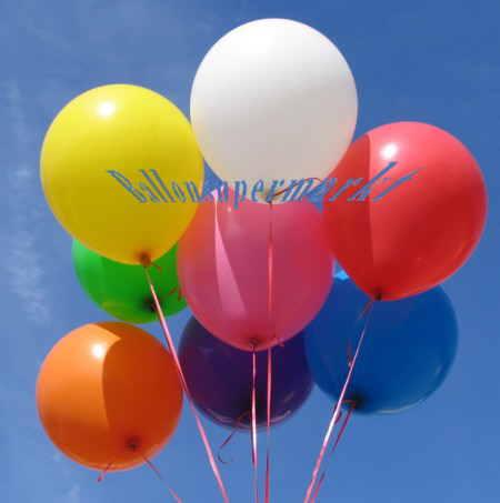 Ballons Standard, 40 cm