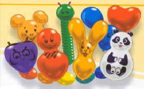 Luftballons Figuren