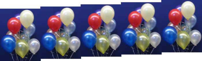 Luftballons Metallic im Ballonsupermarkt