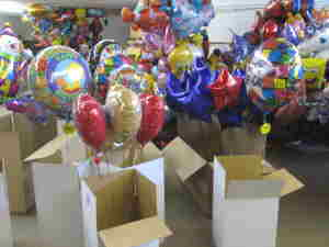 Luftballons Versandhandel
