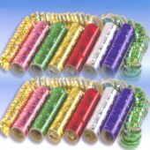 Luftschlangen Metallic Folie