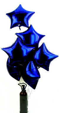 Sterne LILA Folienballons