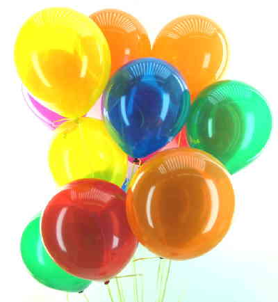 Latexballons 30cm Kristall / Single Farben - Latexballons 30cm Kristall / Single Farben