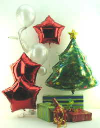 Luftballons Weihnachten