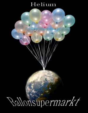 Helium ist das Gas, das Luftballons zum Schweben bringt