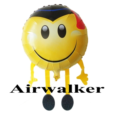 Airwalker Luftballon Smiley