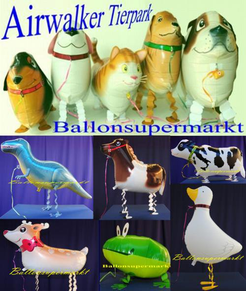 Airwalker Tiere Luftballons
