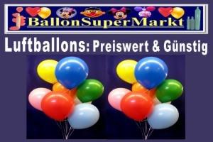 Ballons günstig und preiswert im Ballonsupermarkt-Onlineshop