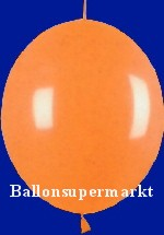 Girlandenballon-Kettenballon-Luftballon-Link-a-Loon-Orange