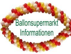 Ballonsupermarkt Informationen zu Ballons, Helium und Ballondekoration