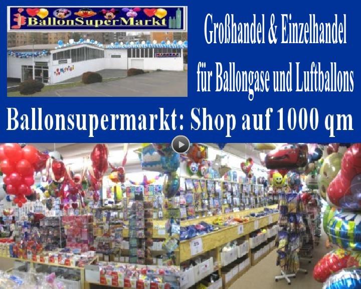 Ballonsupermarkt, der Shop auf eintausend Quadratmetern