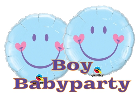 Babyparty Boy Luftballons