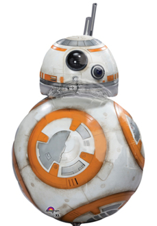 Folienballon Shape: BB8 Star Wars