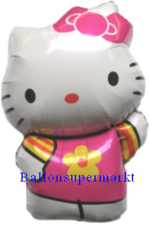 Folienballon Shape Hello Kitty