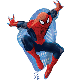 Folienballon Shape Spider-Man