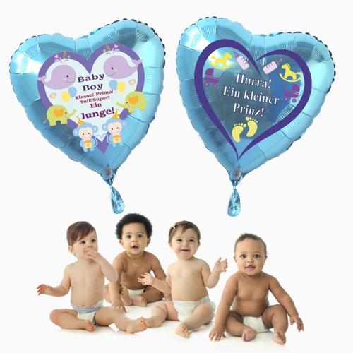 Geburt Luftballons
