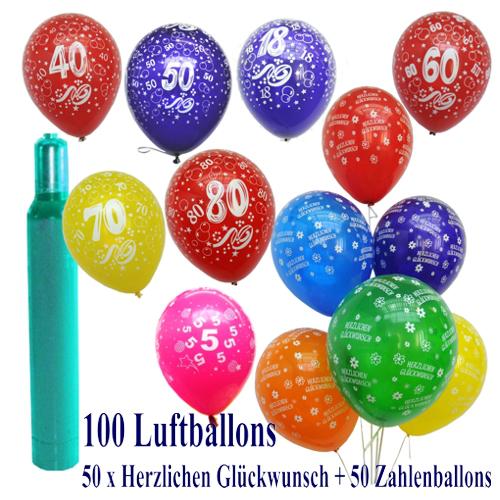 geburtstagsballons ballons zu geburtstag und kindergeburtstag. Black Bedroom Furniture Sets. Home Design Ideas