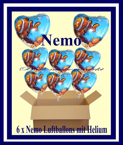 Die Geschenkidee, mit Helium schwebende Luftballons zum Kindergeburtstag
