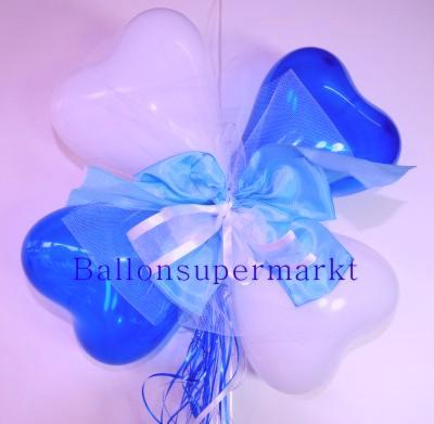 Herzluftballons Dekoration