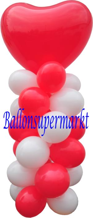 Ballondekoration Hochzeit Luftballons