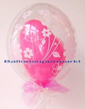 Hochzeit Luftballons, Herz der Liebe