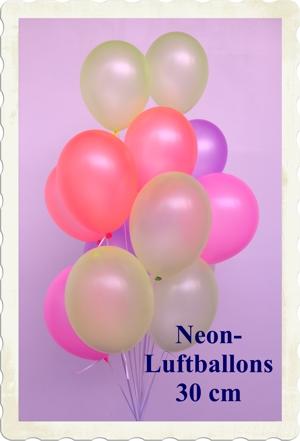 luftballons neon. Black Bedroom Furniture Sets. Home Design Ideas