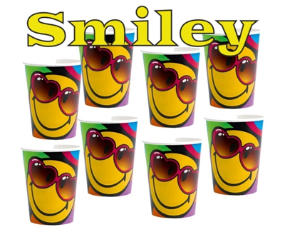 Smiley Partybecher