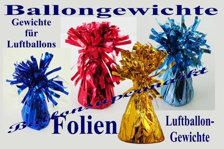 Ballonbeschwerer, Gewichte für Luftballons