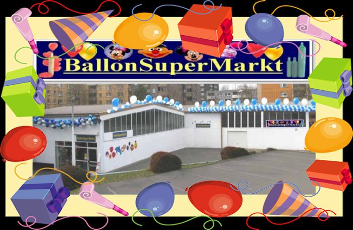 Ballonsupermarkt, Party-Deko-Shop