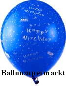 Latexballons Happy Birthday Motiv